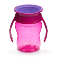 Wow Cup® Tritan™ Baby Drinking Cup Pink 7 OZ