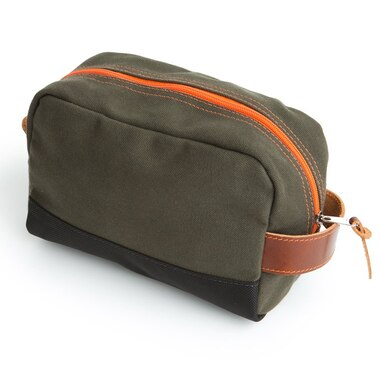 Owen & Fred Hey Handsome Shaving Kit Bag - Army Green