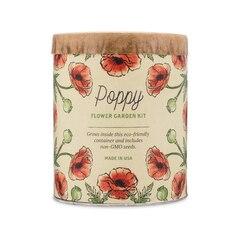 Waxed Planter Grow Kit – Poppy