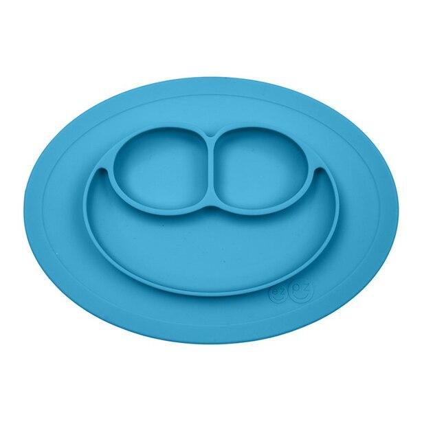 ezpz Mini Mat Placemat and Plate Blue