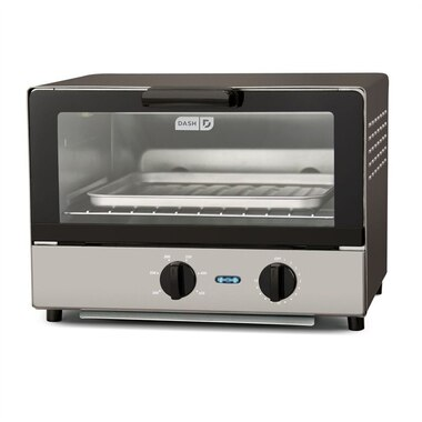 Compact Toaster Oven Graphite