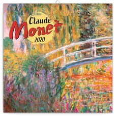 2020 Wall Calendar Claude Monet (multilingual)