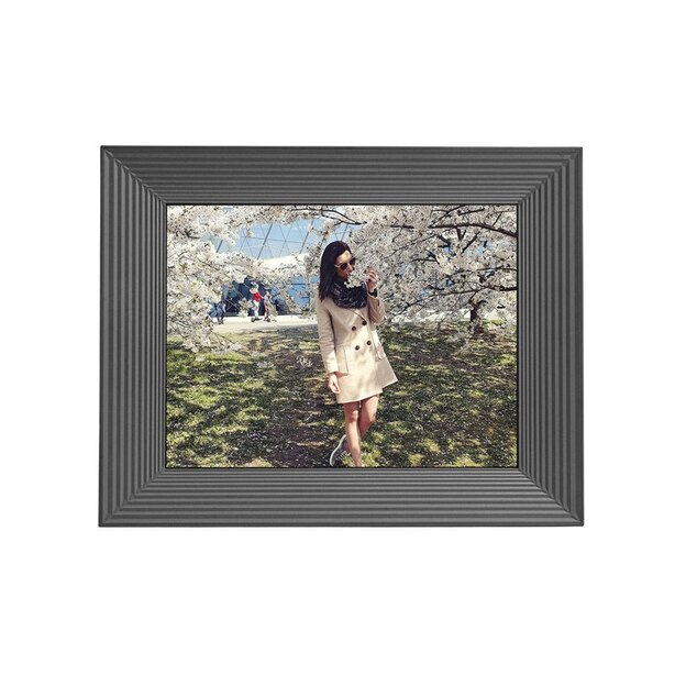 AURA SMART WIFI DIGITAL PHOTO FRAME MASON GRAPHITE