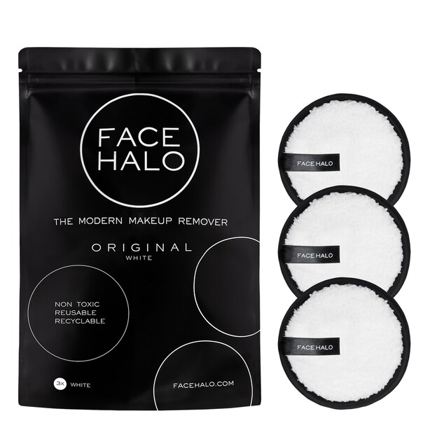 FACE HALO ORIGINAL MAKEUP REMOVER PADS SET OF 3