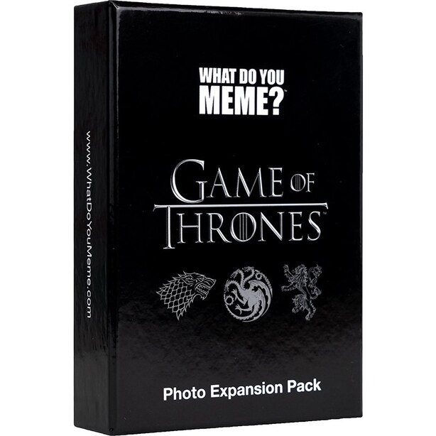 What Do You Meme Game Game of Thrones Photo Expansion Pack Adult Content