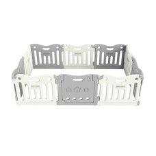 Baby Care™ FunZone Playpen Melange Grey