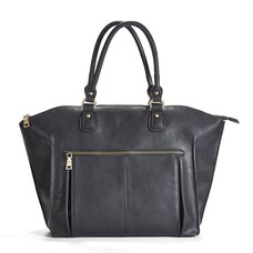 Newlie Lily Tote Diaper Bag Black