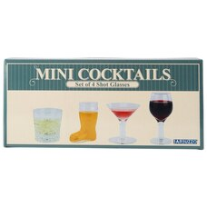 0853d0457f2 Mini Cocktails Shot Glasses – Set of 4