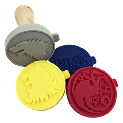 Game of Thrones: Silicone Cookie Stamps