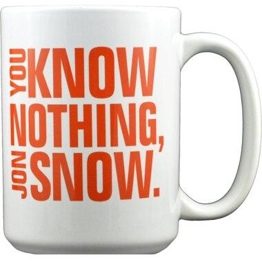 "Game of Thrones: ""You Know Nothing, Jon Snow"" - 15 oz. Mug"