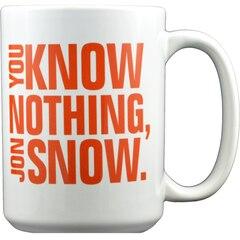 TASSE DE 15 OZ – GAME OF THRONES : « You Know Nothing Jon Snow »