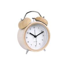 Karlsson Classic Bell Alarm Clock - Wood