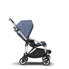 Bugaboo Bee5 Complete Stroller Aluminum/Blue Melange/Blue Melange