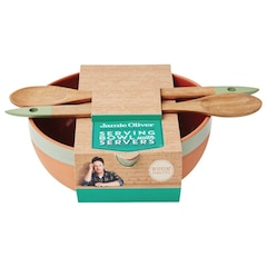Jamie Oliver Rustic Serving Bowl with Servers
