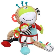 Dolce Play and Learn Monkey Plush Toy