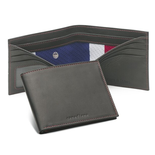 MONTREAL CANADIENS GAME-USED UNIFORM WALLET