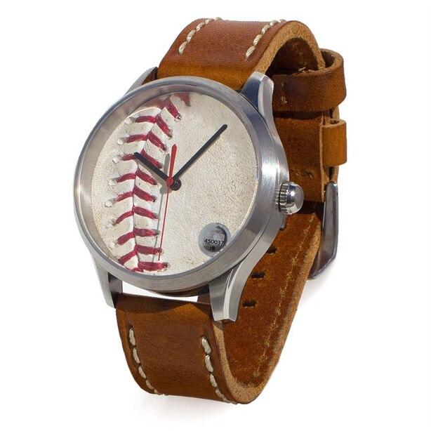 New York Yankees Game-Used Baseball Watch