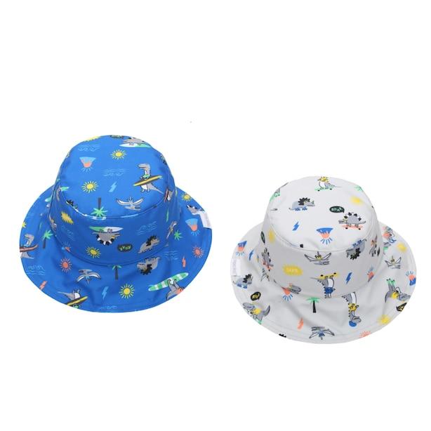 Reversible Sun Hat - Dino