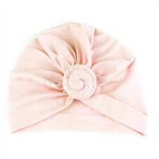 Baby Wisp® Baby Hat Turban Knot Light Pink