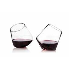 Verres à vin en cristal à rouler