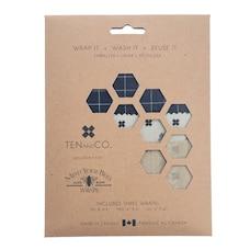 Pellicules de cire d'abeille, Classiques, ensemble de 3