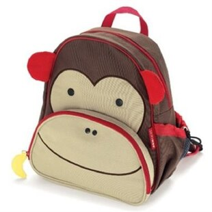Skip Hop ZOO little kid backpack - Monkey, 3-9 yrs