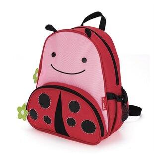 Skip Hop ZOO little kid backpack - Ladybug, 3-9 yrs
