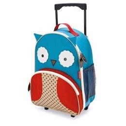 Zoo Rolling Luggage Owl