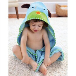 SKIP HOP ZOO TOWEL & MITT SET, DOG