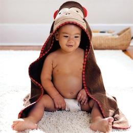 Zoo Towel and Mitt Set Monkey