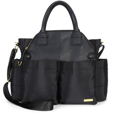 Chelsea Downtown Chic Diaper Bag Satchel Black
