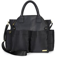 Chelsea Downtown Chic Diaper Bag Satchel - Black