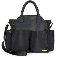 Chelsea Downtown Chic Diaper Bag Satchel - Black