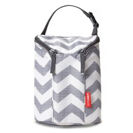 Grab & Go Double Bottle Bag - Chevron