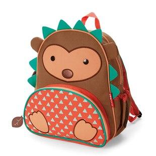 Skip Hop ZOO little kid backpack - Hedgehog, 3-9 yrs