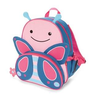 Skip Hop ZOO little kid backpack - Butterfly, 3-9 yrs