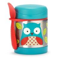 SKIP HOP ZOO STAINLESS FOOD JAR, OWL