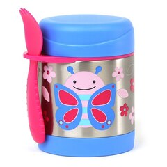 SKIP HOP ZOO STAINLESS FOOD JAR, BUTTERFLY