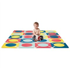 Skip Hop PLAYSPOT Geo Foam Floor Tiles, Multi