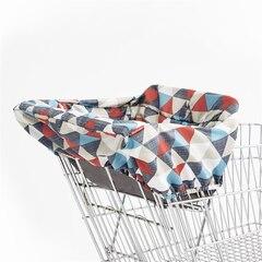 Skip Hop TAKE COVER Shopping Cart & High Chair Cover - Triangles
