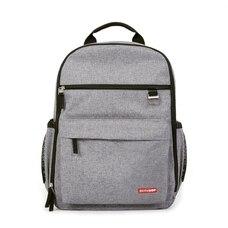 Skip Hop DUO Diaper Backpack, Heather Grey