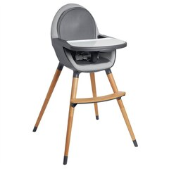 Tuo Convertible High Chair, Charcoal Grey