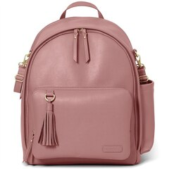 GREENWICH SIMPLY CHIC DIAPER BACKPACK, ROSE