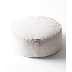 Mod Zafu Meditation Pillow - Natural Linen