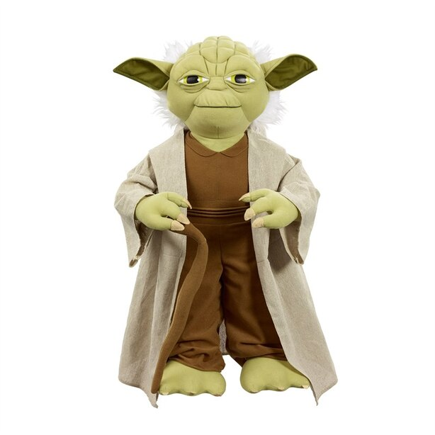 Star Wars Life Size Yoda Talking Plush