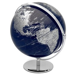 Dark Blue Ocean Globe