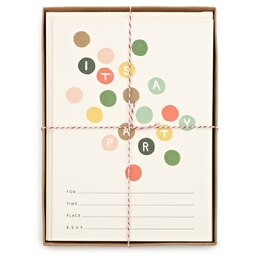 Rifle Paper Co. Coloured Dots Invitations