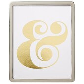 """Rounded Silver Frame – 8"""" x 10"""""""