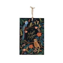2018 12 Month Rifle Paper Co. Midnight Menagerie Mini Wall Calendar