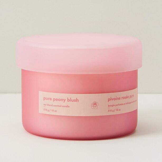 Triple-Wick Candle – Pure Peony Blush